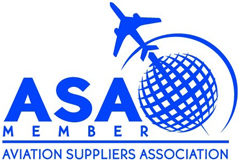 Aero Assets are members of the Aviation Suppliers Association (ASA)
